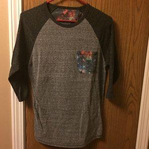 Used galaxy pocket t shirt
